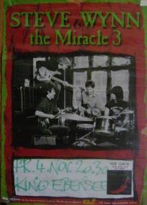 Steve Wynn - Ebensee (Kino)(04.11.2005) Concert Poster © Alex Melomane