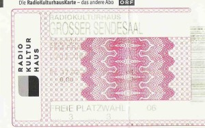 Calexico - Vienna (Radiokulturhaus)(17.02.2006) Ticket © Alex Melomane