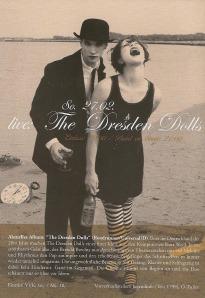 Dresden Dolls - Vienna (Flex)(27.02.2005) Flyer © Alex Melomane