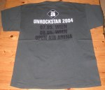 Die Ärzte - Vienna (Arena Open Air)(07.05.2004) Shirt Back © Alex Melomane