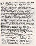 Al DiMeola - Wels (Schlachthof) Flyer Back (29.03.1988) © Alex Melomane