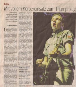Arcade Fire – Wiesen (Open Air)(22.06.2011) Review Kurier © Alex Melomane