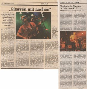 Calexico - Vienna (Arena Open Air - Jazzfest)(28.07.2005) Reviews Der Standard & Kurier © Alex Melomane