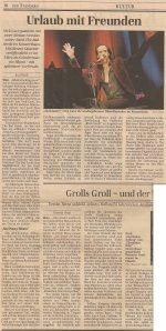 Nick Cave - Vienna (Konzerthaus)(13.11.2006) Standard Review © Alex Melomane