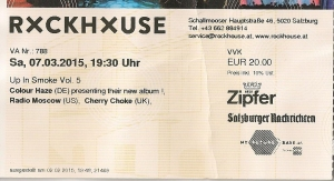 Colour Haze - Salzburg (Rockhouse) 07.03.2015