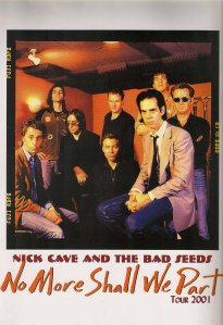 Nick Cave & The Bad Seeds – Munich (Zenith)(31.05.2001) Tourbook © Alex Melomane