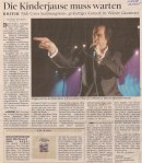 Nick Cave & The Bad Seeds - Vienna (Gasometer)(02.12.2004) Kurier Review © Alex Melomane