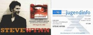 Steve Wynn - Vienna (Chelsea)(25.02.2008) Flyer & Ticket © Alex Melomane