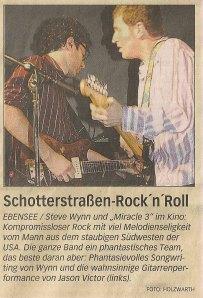 Steve Wynn - Ebensee (Kino)(04.11.2005) Review Rundschau © Alex Melomane