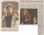 The Rolling Stones – Vienna (Ernst-Happel-Stadium)(14.07.2006) Review Kurier © Alex Melomane