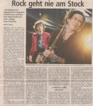 The Rolling Stones – Vienna (Ernst-Happel-Stadium)(14.07.2006) Review Salzburger Nachrichten © Alex Melomane