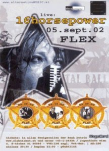 16 Horsepower – Vienna (Flex)(05.09.2002) Flyer © Alex Melomane