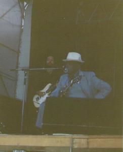 John Lee Hooker – Vienna (Arena – Open Air)(04.07.1991/1992) © Alex Melomane