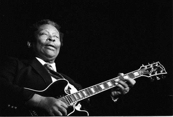 Riley B. King aka B.B. King (born 16th September 1925)