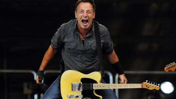 """Bruce """"The Boss"""" Springsteen (born 23rd September 1949)"""