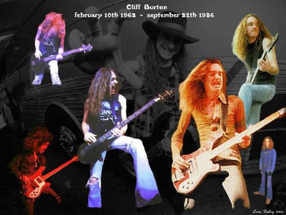 Clifford Lee Burton (10th February 1962 – 27th September 1986)