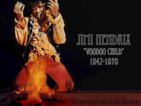 "James Marshall ""Jimi"" Hendrix (27th November 1942 – 18th September 1970)"