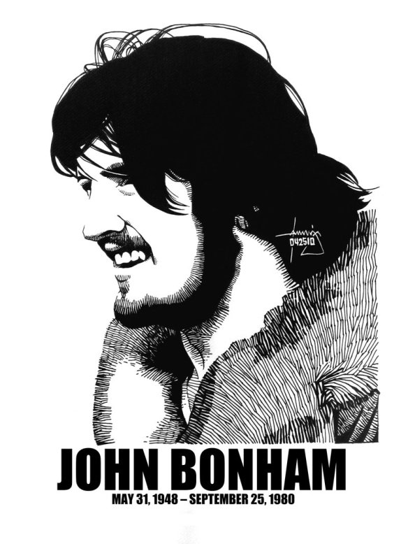 John Henry Bonham (31st May 1948 – 25th September 1980)
