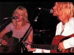 Courtney Love (Hole) & Kurt Cobain (Nirvana)