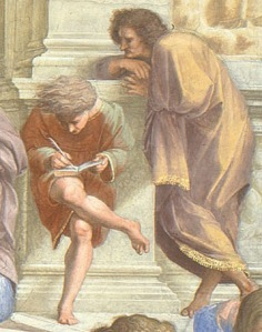 Raphael - The School of Athens (Detail)