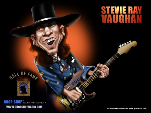 Stevie Ray Vaughan (3rd October 1954 - 27th August 1990)