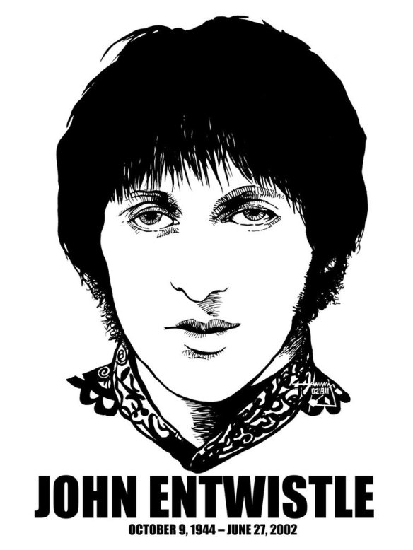 John Entwistle (9th October 1944 - 27th June 2002)