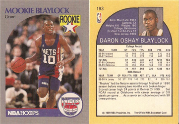Mookie Blaylock (NBA Card)