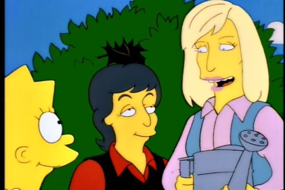 Lisa Simpson, Paul and Linda McCartney