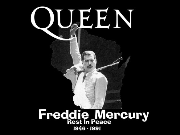 Freddie Mercury (5th September 1946 – 24th November 1991)