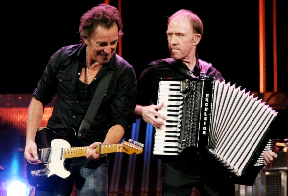 Bruce Springsteen & Danny Federici (23rd January 1950 – 17th April 2008)