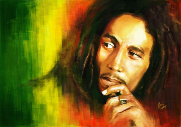 "Robert Nesta ""Bob"" Marley (6th February 1945 – 11th May 1981)"